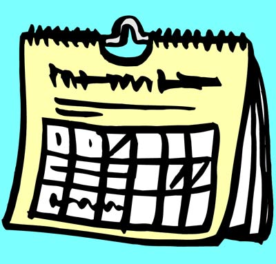 Annual Calendar of events
