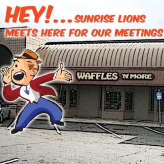 Post View of where Sunrise Lions meet