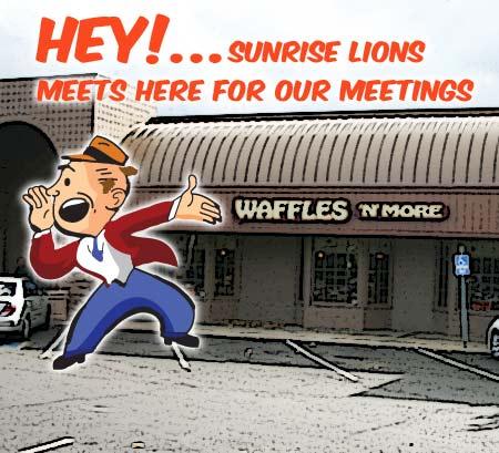 Where Sunrise Lions meet